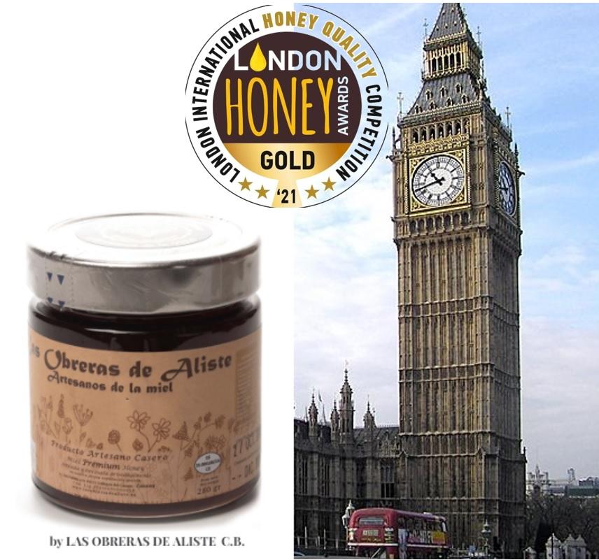 London International Honey Award Las Obreras de Aliste