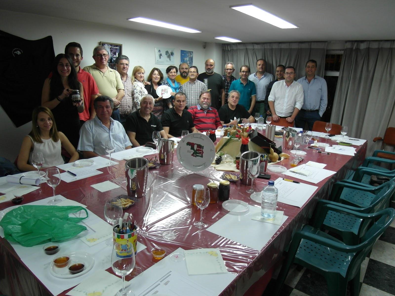 Asociación de sumilleres de Zamora Las Obreras de Aliste