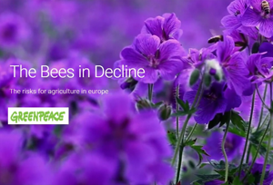 Save the bees. Greenpeace
