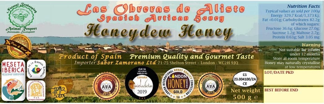 label english honey Las Obreras de Aliste
