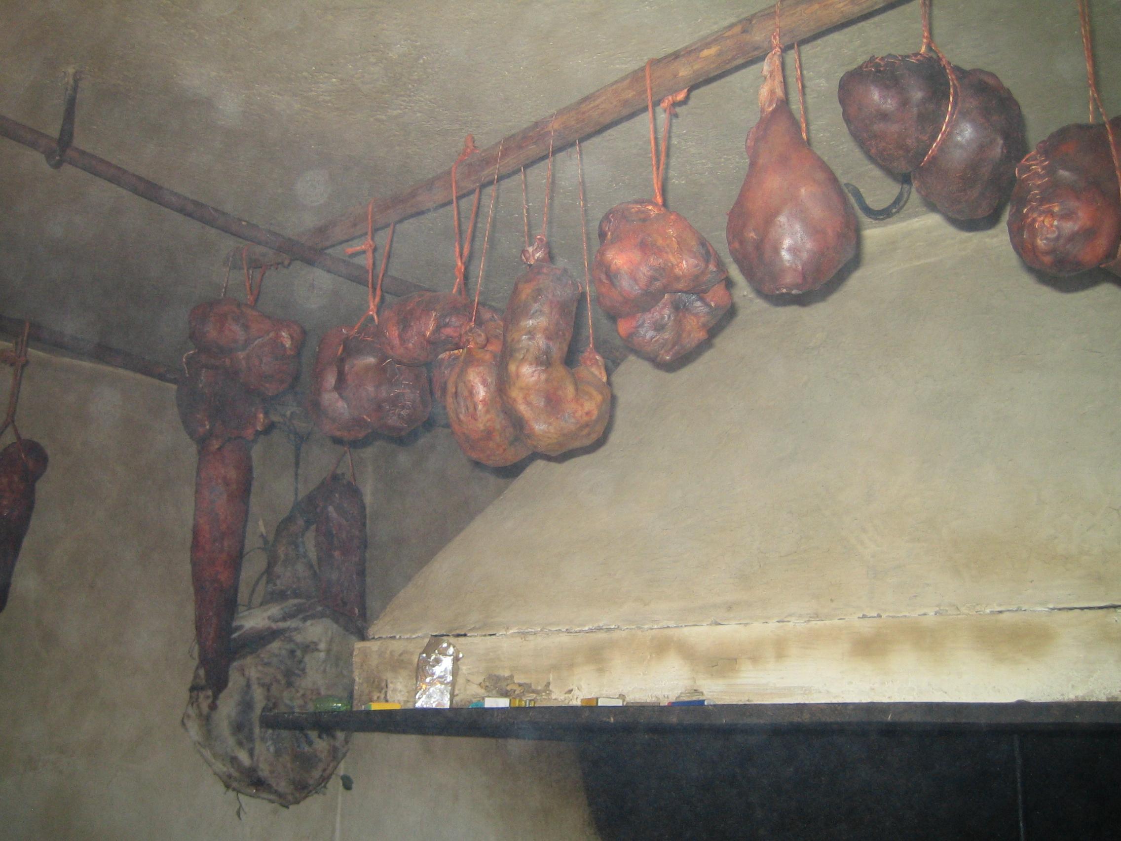 Botillos matanza del cerdo Gallegos del Campo Las Obreras de Aliste