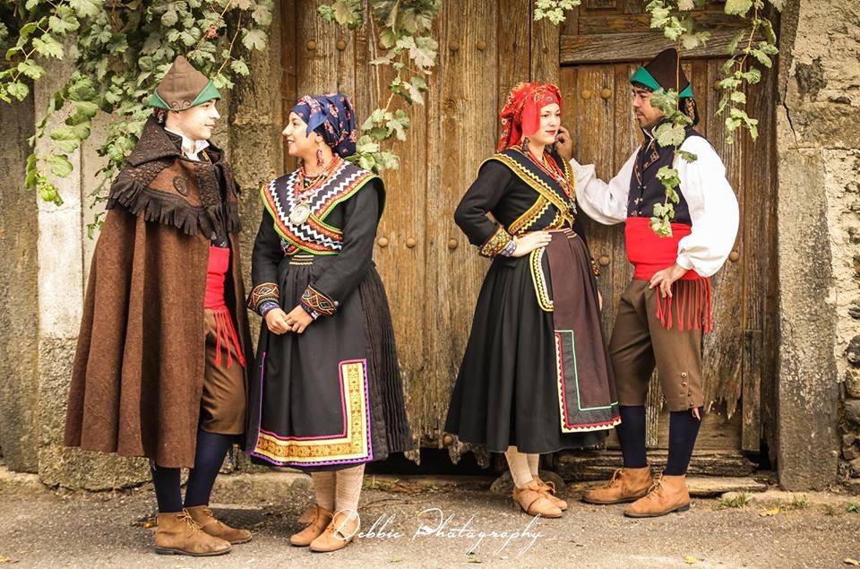 Vestimenta tipica alistan Las Obreras de Aliste miel DebbiePhotography