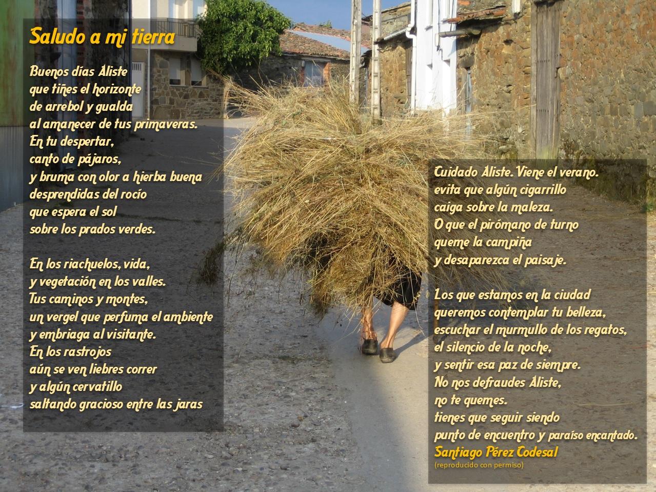 Poema sobre Aliste Las Obreras de Aliste Santiago Pérez Codesal