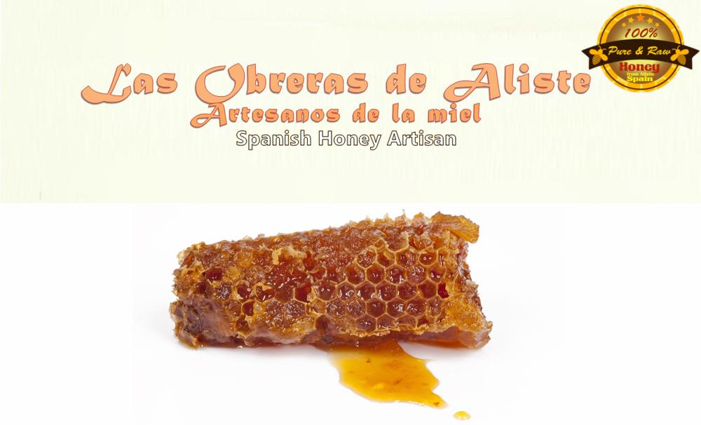 La miel en la cocina
