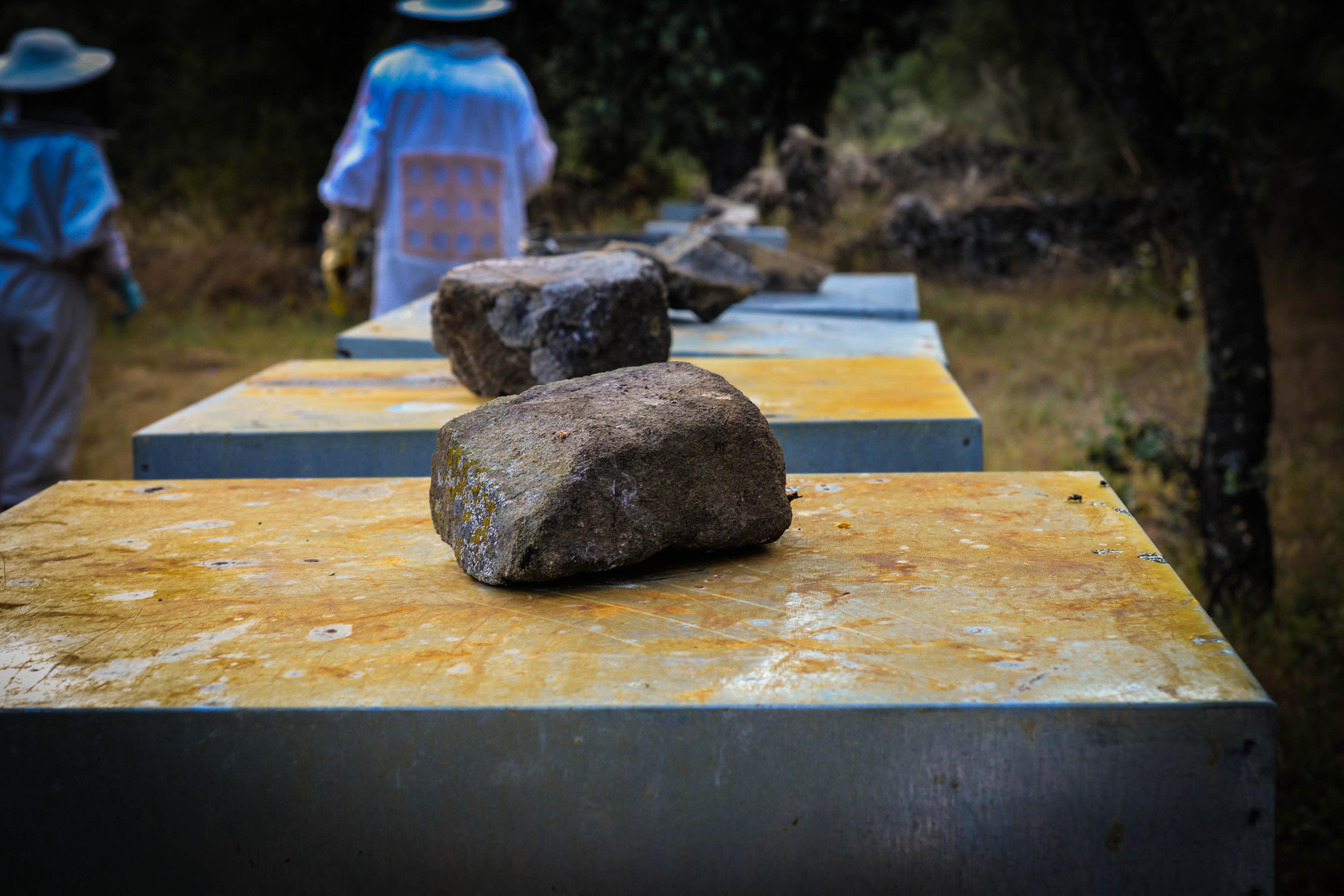 piedra colmena  Las Obreras de Aliste CB Artesanos de la Miel Aliste Gallegos del Campo Artesanos de la Miel