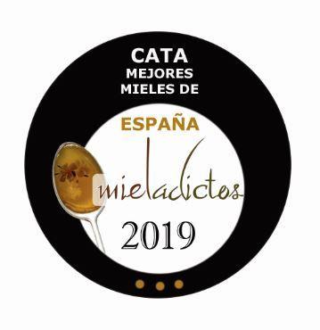 Logo finalistas Mieladictos Las Obreras de Aliste CB Artesanos de la Miel