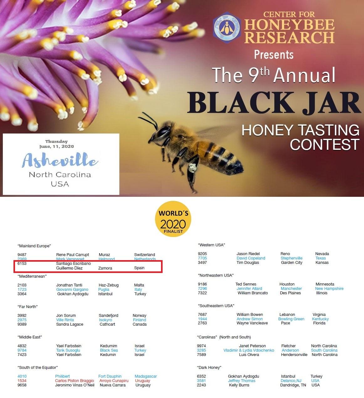 black jar honey USA Las Obreras de Aliste CB