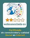 Web conectada. Certificado de conectividad y calidad Social en internet