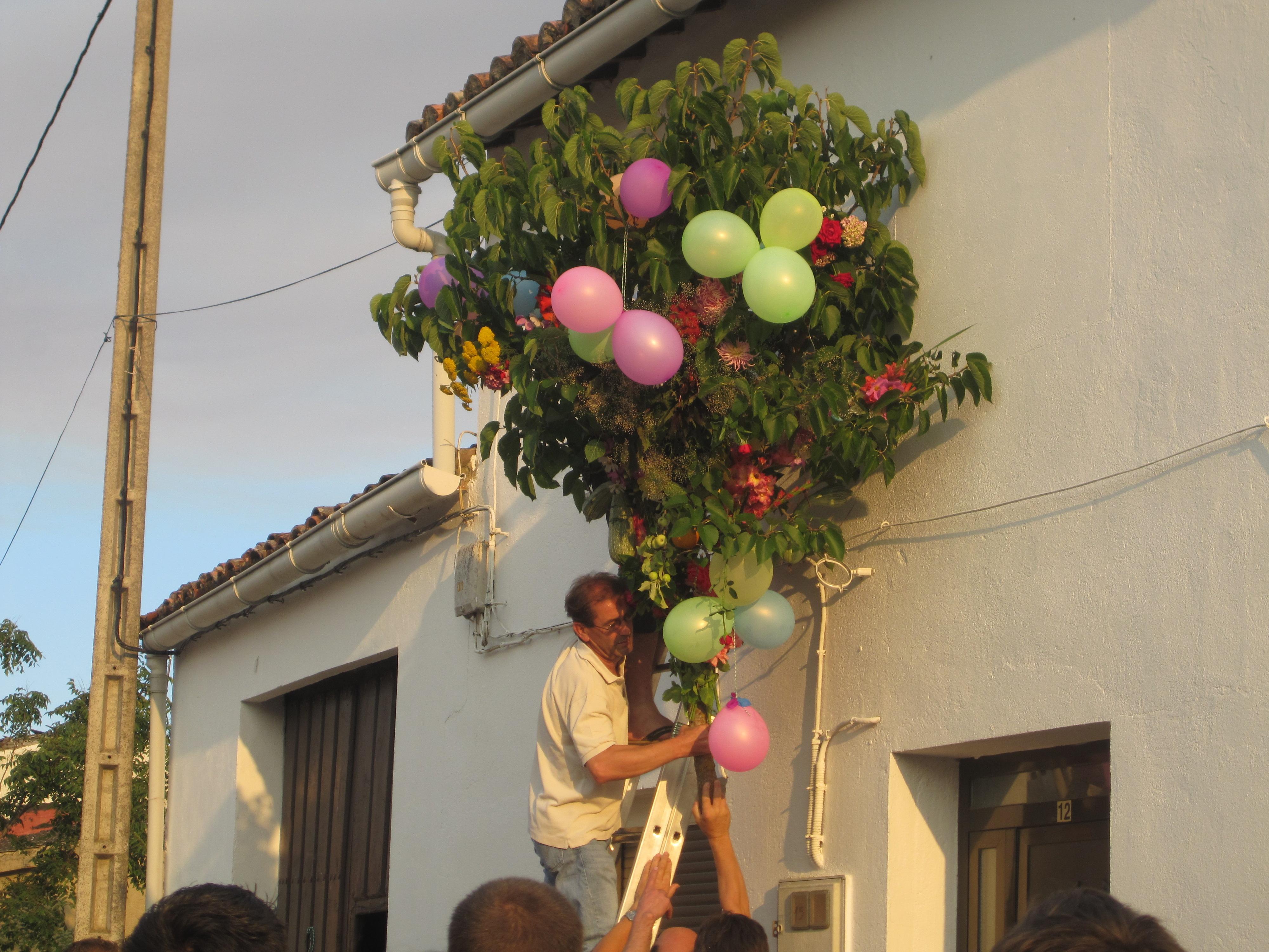 Fiesta del Ramo y Rosca en Gallegos del Campo Las Obreras de Aliste Artesanos de la miel