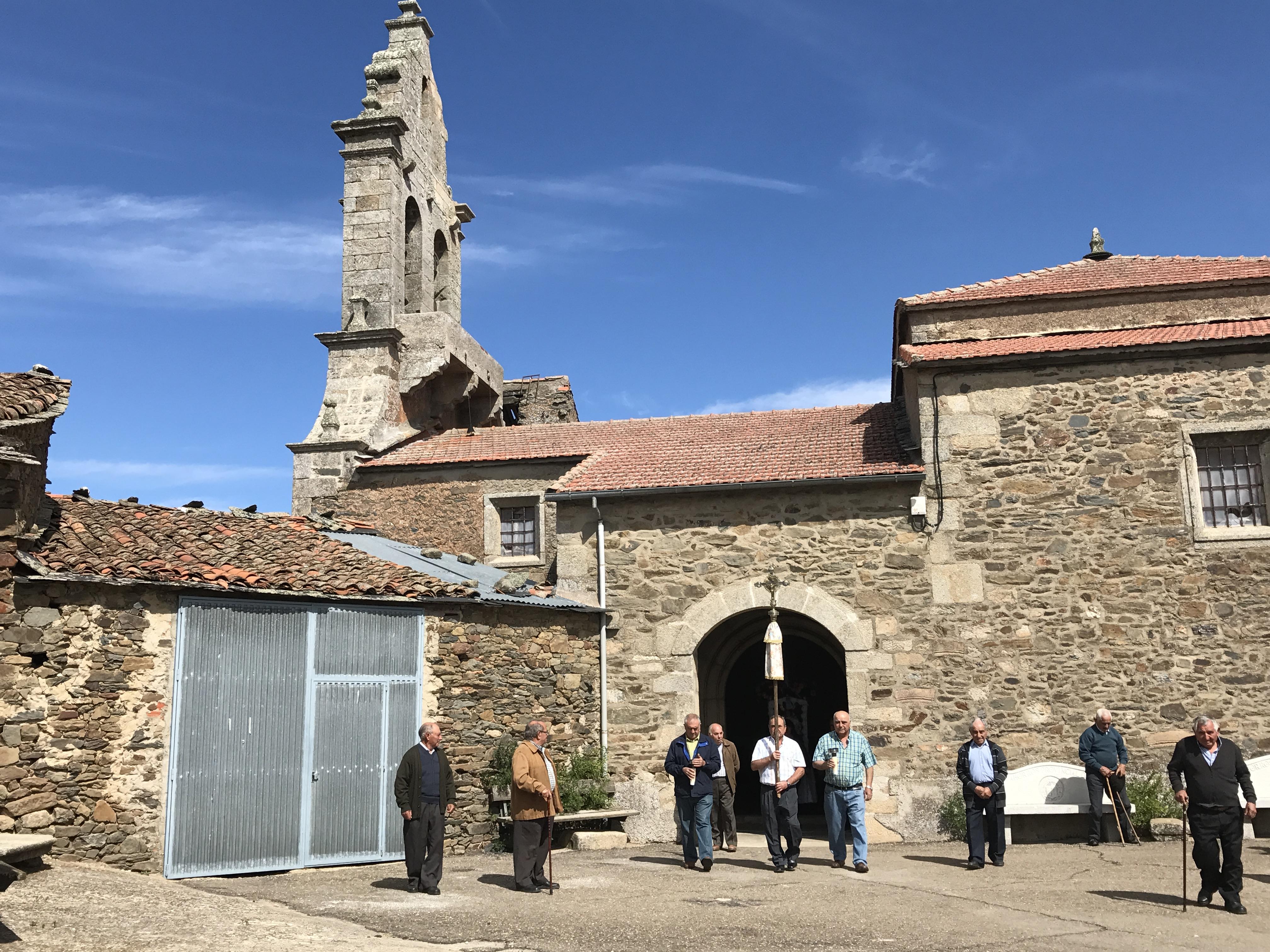 Iglesia de San Jorge Gallegos del Campo Las Obreras de Aliste