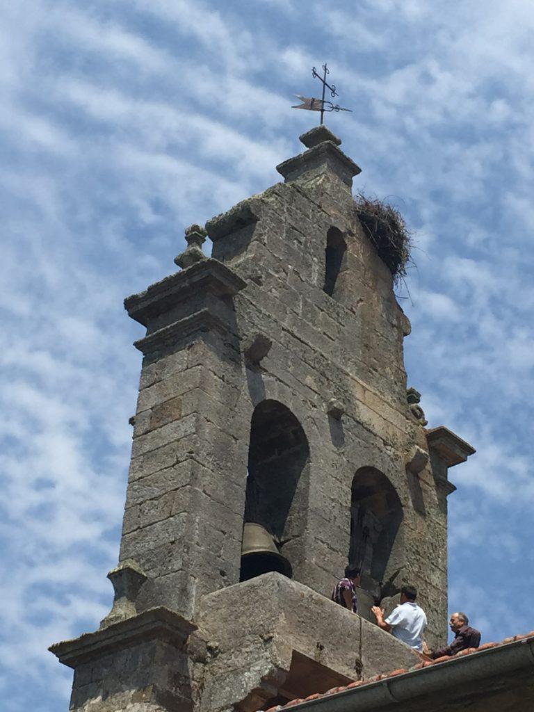 Espadaña iglesia Gallegos del Campo Las Obreras de Aliste