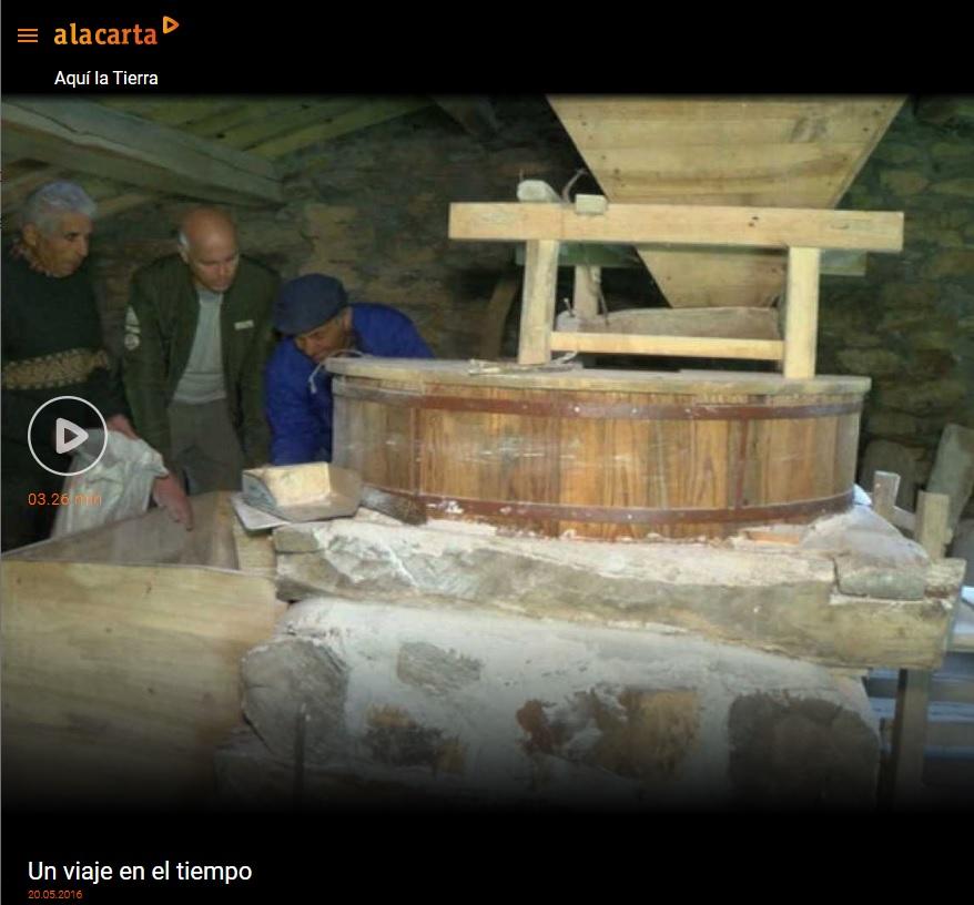 molino de agua Gallegos Las Obreras de Aliste CB Artesanos de la Miel Aliste Gallegos del Campo Artesanos de la Miel