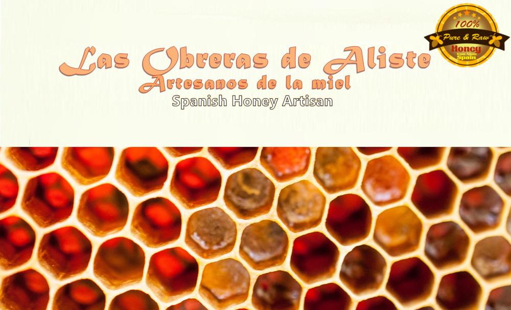 El polen de la miel divisa de calidad